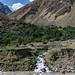 On the road along the Panj River, Tajikistan