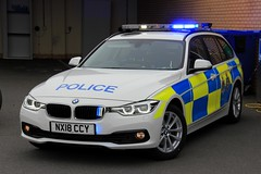 Cleveland Police BMW 330d Touring Roads Policing Unit Traffic Car (PFB-999) Tags: cleveland police cdsou bmw 330d 3series touring estate 4x4 roads policing unit rpu traffic car vehicle lightbar grilles fendoffs leds nx18ccy