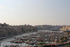 Blick nach Valletta (ingejahn) Tags: rinella sonntagsinkalkara malta maltalove sommer sonne strand baden wasser pflanzen