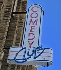 Extreme Arts Complex, Saginaw, MI (Robby Virus) Tags: saginaw michigan mi extreme arts complex neon sign signage comedy club