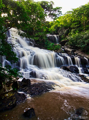 Roncador's Waterfall (Werner Wanderley) Tags: waterfall roncador cachoeira longexposure canon water