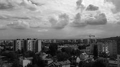 DSCF0777_jnowak64 (jnowak64) Tags: poland polska malopolska cracow krakow krakoff bronowice krajobraz niebo chmury architektura lato mik bwextra