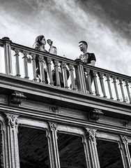 Trop chaud. Paris, juin 2018 (Bernard Pichon) Tags: paris îledefrance france fr bpi760 pont fr75 streetview chaleur dxo