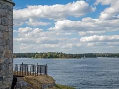 Auf der Festung Vaxholm II (KL57Foto) Tags: 2018 juli july kl57foto omdem1 olympus schweden sommer summer sverige sweden schären schäreninsel schärengarten archipelago festung waxholm vaxön fortress