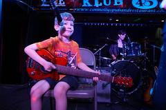 DSC04064 (NYC Guitar School) Tags: nycgs new york city guitar school 2018 summer camp rock performance 8218 drums bass singer songwriting kids teens music live connollys klub 45 plasticarmygirl recital samoajodha samoa jodha
