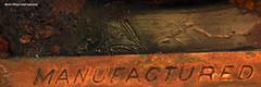 Manufactured Rust (Retro Photo International) Tags: rust rusty manufactured metal old vintage carl zeiss jena tessar 50mm 35 macro decay macromonday 7dwf