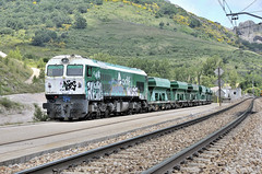 319.243 a CIÑERA (Andreu Anguera) Tags: tren ferrocarril linealeóngijón puertodepajares lapoladegordón ciñera león máquina319243 andreuanguera