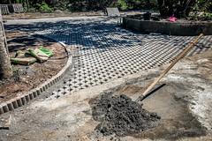 Shovelplant (Melissa Maples) Tags: batumi batum ბათუმი adjara აჭარა georgia gürcistan sakartvelo საქართველო asia 土耳其 apple iphone iphonex cameraphone მწვანეკეპი mtsvanecape ბოტანიკურიბაღი botanicalgarden shovel concrete cement construction