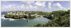 Port Isaac a view from the top (Elaine 55.) Tags: portisaac cornwall panoramic