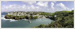 Port Isaac a view from the top