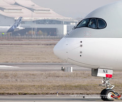 AIRBUS A350-1041 (MSN 0088) (PHOTOGRAPHE31 - F-EGUT) Tags: a350 rr trent97 a3501000 aeroport toulouse blagnac airport avgeek aviation plane aircraft airbus fly planespotter aerophotography photography outside canon lfbo airbus tls fwznr a7ana