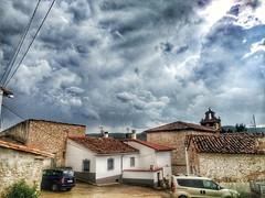 Salinas del Manzano. Cuenca. (Lucio José Martínez González) Tags: luciojosémartínezgonzález cuenca salinasdelmanzano ngc village pueblo españa spain europa europe clouds nubes storm tormenta