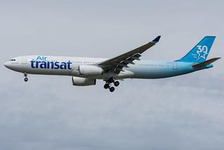 Air Transat / A333 / C-GKTS / LFRS 21