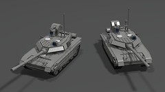 t90ms main battle tank finished1 (demitriusgaouette9991) Tags: lego military army ldd armored tank russian powerful railgun turret deadly strongest