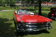 big ol Caddy (parrotlady66..) Tags: oldcars caddy red antique canon70d