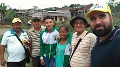 Misión parroquial por el barrio de El grito de La Libertad