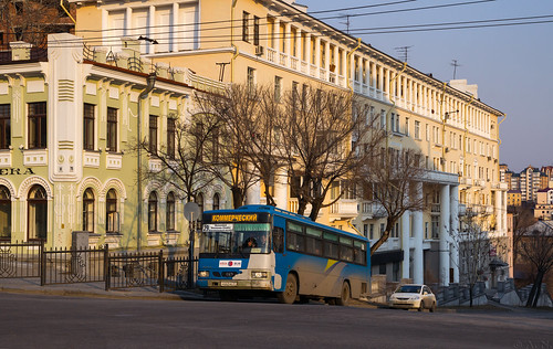 Khabarovsk city bus: Daewoo BS106 # М662МЕ 27