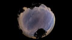 Full Night 360° Timelapse (jmwill2005) Tags: astronomie timelapse zeitraffer himmel universum milchstrasse meteor flugzeug sterne wolken nacht fisheye schachen meteorcamp 2018 perseiden planeten mars saturn jupiter airglow