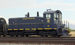 San Pedro Southwestern SW1200 1501 (DTR CEO) Tags: emd sw1200 az arizona willcox spsr train locomotive switcher texaspacific track railroad