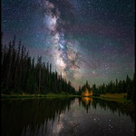 Alpine Lake Under the Stars thumbnail