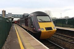 43285 (matty10120) Tags: class railway rail train transport travel bristol parkway hst high speed cross country 43 125