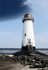 Talacre Lighthouse (Nightsampler) Tags: talacre lighthouse