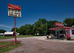 The Lo-Mar (Rusty Irons) Tags: kansas small town burger fries malts coke sign drive car hops root beer plastic