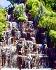 Wynn Notel (kazzawazzaa) Tags: vegas waterfall water rocks wynn