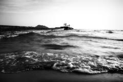 _MG_4189 (alanpeu1) Tags: arillas corfu greece 2018waves pier sand lowangle