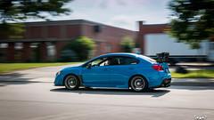 IMG_2231 (PedoJim) Tags: subaru wrx sti varis blue ivy nextmod turbo ej25 wing racecar lachute quebec montreal brembro bakemono track car