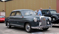 Mercedes W121 190 1956 (XBXG) Tags: up9615 mercedes w121 190 1956 mercedesw121 mercedes190 mb benz mercedesbenz classiccarsaeroplanes 2018 seppe breda international airport ehse seppeairport vliegveldseppe seppeairparc vliegveld luchthaven aéroport meeting carmeeting bosschenhoofd noordbrabant brabant nederland netherlands holland paysbas vintage old german classic car auto automobile voiture ancienne allemande germany deutsch duits deutschland ponton