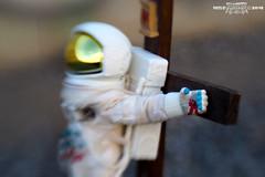 crucified astronaut 4 (1CONOCLA5T) Tags: crucified astronaut crucifixion crucifix 1conocla5t iconoclast crucinaut disturbing