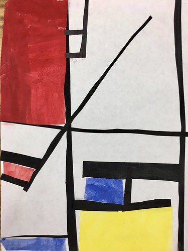 "Every year I get new favorites with this #kindergarten #pietmondrian  inspired painted paper gridded #collage ❤️❤️  They have such an amazing lyricism at this age that I admire so much. Want em all! • <a style=""font-size:0.8em;"" href=""http://www.flickr.com/photos/57802765@N07/42086992220/"" target=""_blank"">View on Flickr</a>"