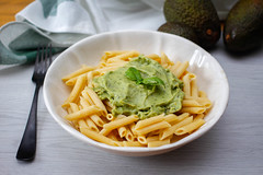 Penne mit Avocado Pesto (marcoverch) Tags: tasty pasta food homemade pesto dish green fresh plate healthy avocado penne einfügen lebensmittel dinner abendessen lunch mittagessen noperson keineperson teller spaghetti meal mahlzeit gericht cuisine kochen vegetable gemüse cooking delicious köstlich garlic knoblauch sauce sose gesund noodles nudeln traditional traditionell fork gabel nutrition ernährung fly cars deutschland history event golden decay macromondays vacation mist