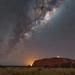 Mars Opposition 2018 on Uluru