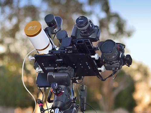 Capturing photons