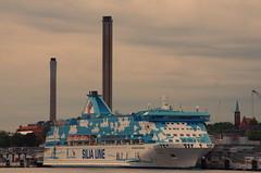 108 Stockholm Juin 2018 (paspog) Tags: suède sweden schweden stockholm industrie industry juin june juni 2018 mer sea see