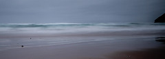 Smooth Atlantic (NikNak Allen) Tags: mawganporth cornwall beach coast bay sea water ocean sky surf waves longexposure seascape painting low shoreline early morning