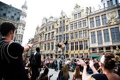Zinneke 2018 - KOD (saigneurdeguerre) Tags: europe europa belgique belgië belgien belgium belgica bruxelles brussel brüssel brussels bruxelas ponte antonioponte aponte ponteantonio saigneurdeguerre canon 5d mark 3 iii eos zinneke parade 8 mai mei 2018 zinnode kod
