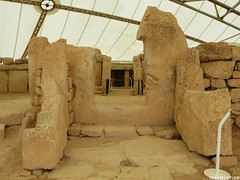 Hagar Quim & Mnajdra Temples Archeological Site (Travolution360) Tags: malta hagar quim mnajdra temples archeological site prehistoric ancient history old stone cliff view island holiday travel
