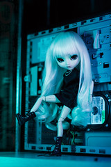 Janick (Sotsyak) Tags: pullip doll dolls fashiondolls prunella jun planning groove tech cyberpunk
