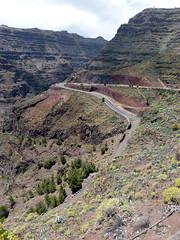 Látkép a Cuesta del Barro-kilátópontról (ossian71) Tags: spanyolország spain kanáriszigetek canaryislands lagomera gomera vallegranrey természet nature tájkép landscape kilátó lookout völgy valley hegy mountain