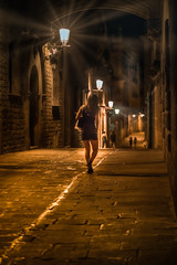 Carrer del Bisbe (justenoughfocus) Tags: barcelona sonyalpha spain catalonia europe gothic nightphotography streetphotography travel locations catalunya es