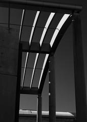 Columns and arches (trochford) Tags: column columns arch arches light shadow contrast ráðhús radhus cityhall townhall building modern architecture exterior reykjavik capitalregion iceland is bw bnw blackandwhite blackwhite noiretblanc blancoynegro mono monochrome canon canon6d ef24105mmf4lisusm ef24105