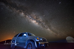 My 2000 Toyota 4Runner Still Taking Me Places! (JUNEAU BISCUITS) Tags: nikon nikond810 hawaiiphotographer milkyway nightphotography astrophotography maunakeasummit maunakea big island stars