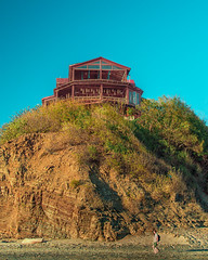 Magnific Rock (Isai Hernandez) Tags: rock places sand beach sky people wonderfull beauty nicaragua photography goldenhours
