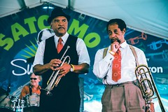 Wendell Brunious, Fred Lonzo - Satchmo Summerfest 2018