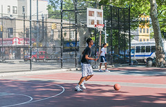 1358_0286FL (davidben33) Tags: brooklyn ny crown height summer 2018 park sport basketball people children 718 plaj joi trees bushes sporting field