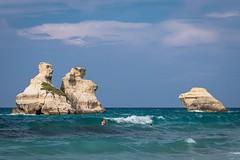 Torre dell'Orso - Spiaggia - Le due Sorelle (grzegorzmielczarek) Tags: apulien puglia italia salento italy torredellorso italien it