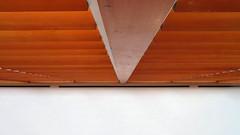Wooden Shutters, Art Gallery of Ontario (duaneschermerhorn) Tags: art artgalery museum gallery exhibition installation painting london england modernart contemporaryart colourful colorful window blinds slats shutters